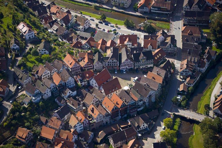 Ein einmaliges Fachwerkensemble: Die Schiltacher Altstadt