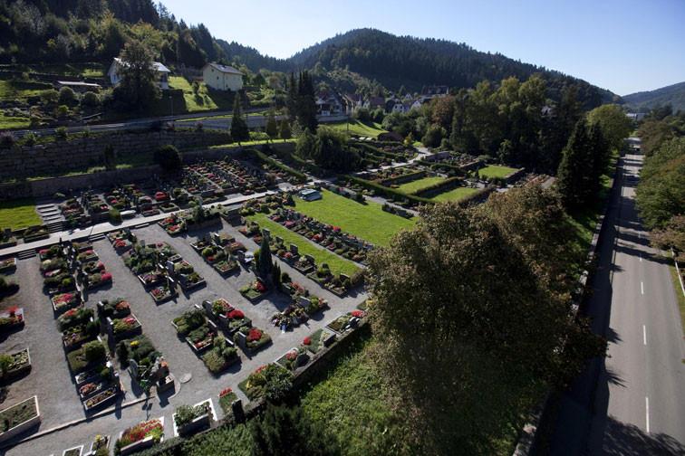 Der Schiltacher Friedhof