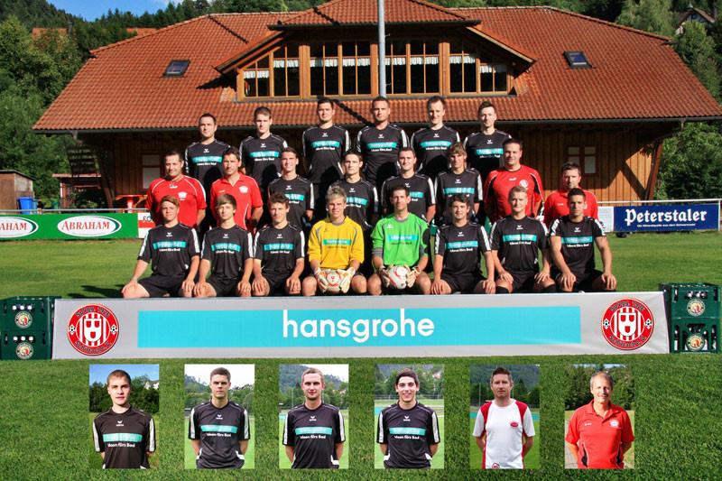 Der aktuelle Kader 2011 der Spvgg Schiltach