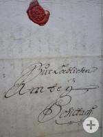 Brief mit Siegel