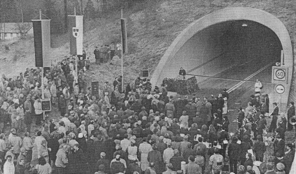 Tunneleinweihung