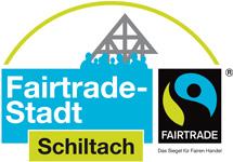 Logo der Fairtrade-Stadt Schiltach - Das Siegel für Fairen Handel